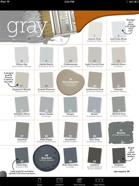 shades of grey color names gray paint colors i m liking nickel and silver charm