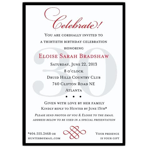60th Birthday Card Wording Classic 90th Birthday Invitations Paperstyle