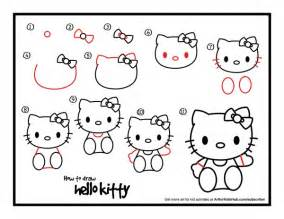 draw kitty instructions
