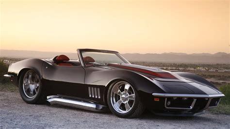 1969 chevrolet corvette 1969 black chevrolet corvette roadster wallpaper