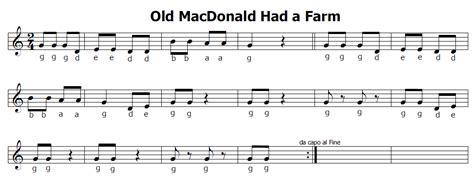 balocchi e profumi testo musica e spartiti gratis per flauto dolce nella vecchia
