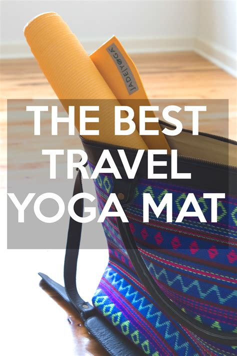Best Travel Mat Reviews by The Best Travel Mat Jade Voyager Yogabycandace