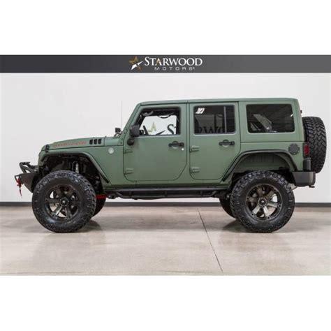 Barton Jeep Starwood Motors 2017 Jeep Wrangler Unlimited Rubicon