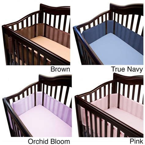 1000 ideas about breathable bumper on cribs