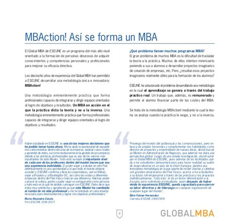 How Is Global Mba by Global Mba