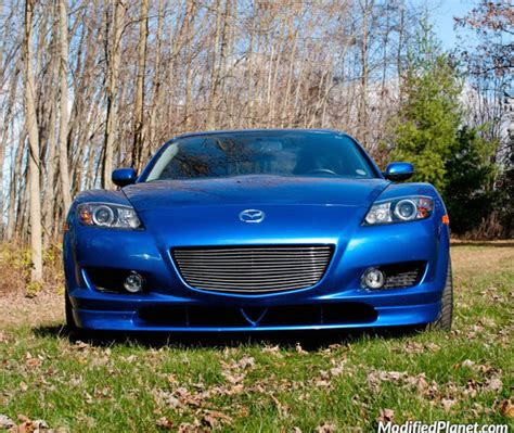 mazda rx8 front grill 2004 mazda rx8 with billet aluminum front grill