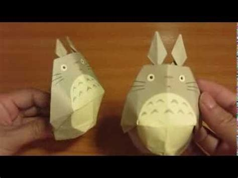 Origami Totoro - 17 best images about totoro on origami step by