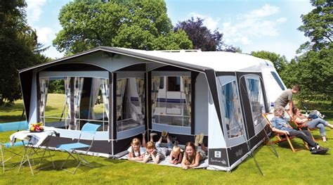 Caravan And Awning by Walker Spectrum 350 Caravan Awning