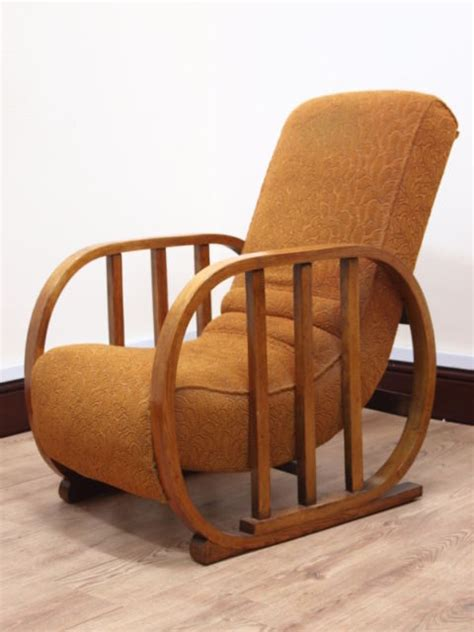 Deco Armchair by An Deco Armchair Antiques Atlas