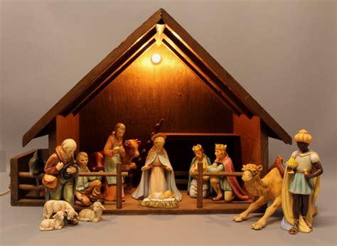 complete vintage hummel goebel religious christmas