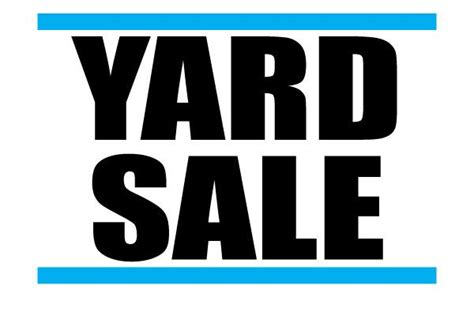 printable yard sale signs printable yard sale signs free download for advertisement