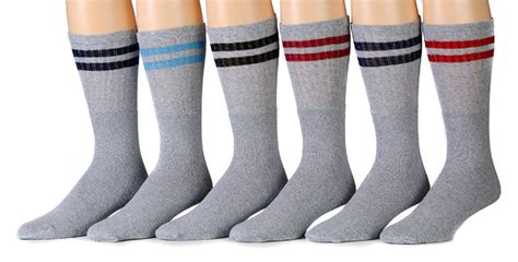 School Socks 15 wholesale deal on 18 inch excell striped socks referee style quot school quot cotton