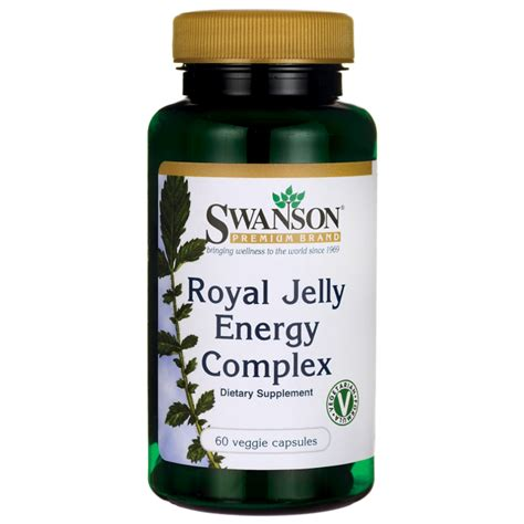 Jfa Royal Jelly Complex Swanson Premium Royal Jelly Energy Complex 60 Veg Caps