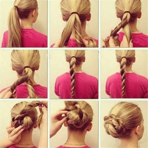 easy updos for short hair step by step easy hair styles braids step by step easy hairstyles every