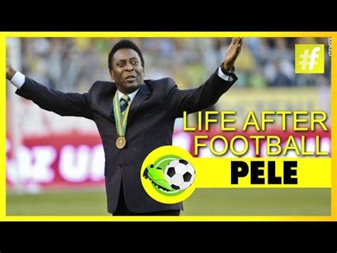 pele biography in spanish pele after football