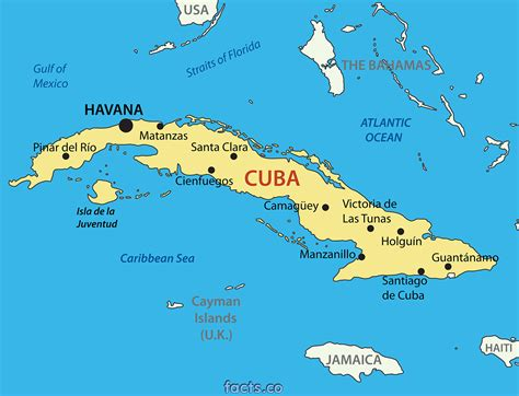 cuba on the world map cuba cities map