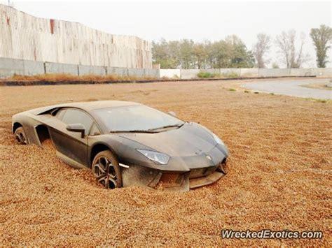 Salvage Lamborghini Aventador Lamborghini Aventador Wrecked In China