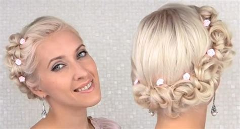 tutorial thin hair hairstyles wedding updo tutorial for medium hair fashionisers