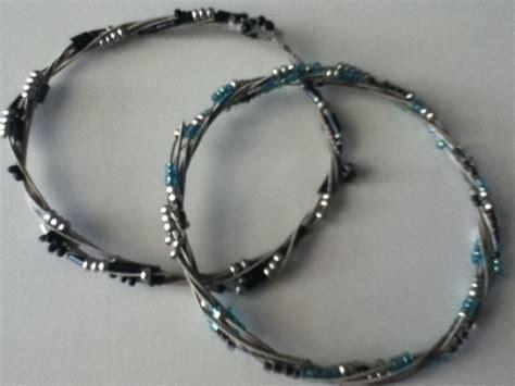 rockish bracelet  guitar strings     guitar string bracelet