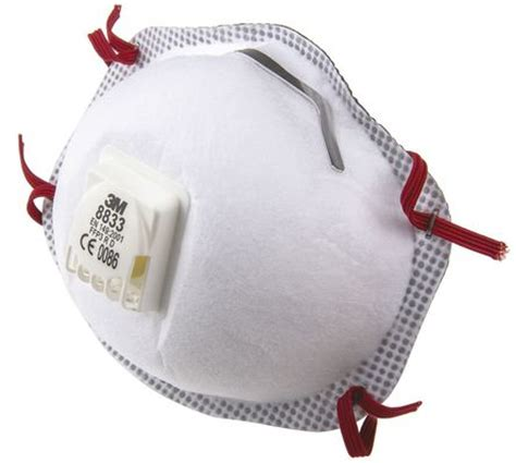 Masker Aubeau 8833 einweg atemschutzmaske ffp3 geformt mit ventil