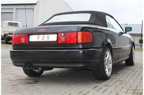 Auspuff Audi 80 by Audi 80 90 Typ 89 B3 Limousine Coupe B4 Cabrio