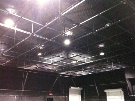 Lighting Grid brand new lighting grid installation in progress