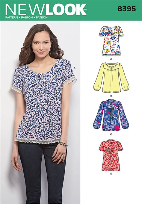 pattern review best of 2015 new look 6395 misses top sewing pattern