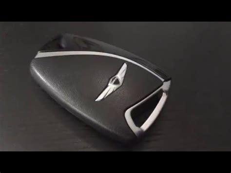 hyundai replacement key fob 2015 hyundai genesis sedan key fob battery replacement