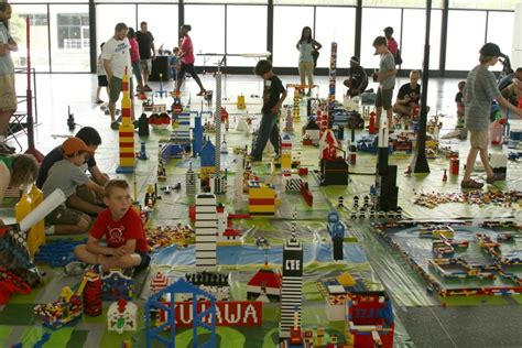 School Lego Alike lego city harnesses the power of collective building wbez
