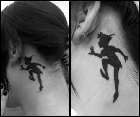 peter pan tattoos disneyink this is my newest of pan s