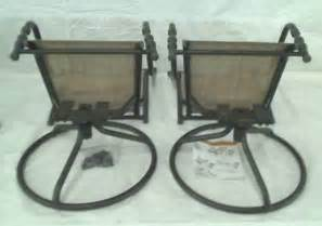Patio Chair Replacement Parts Hton Bay Patio Bistro Chairs Chairs Only