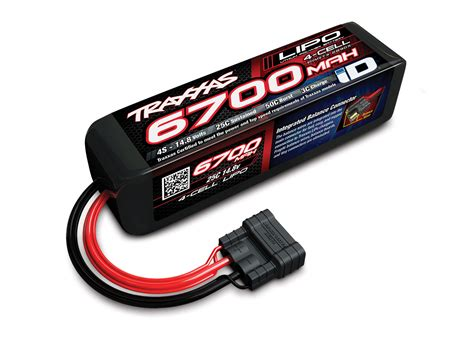 Batery Lipo traxxas 4s quot power cell quot 25c lipo battery w id traxxas connector 14 8v 6700mah