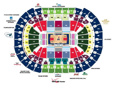 verizon center floor plan verizon center seating map adriftskateshop
