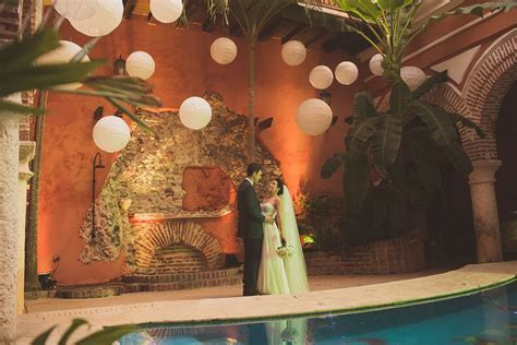 Beautifull wedding venue in Cartagena Colombia @teambride