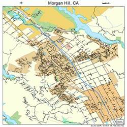 hill california map 0649278