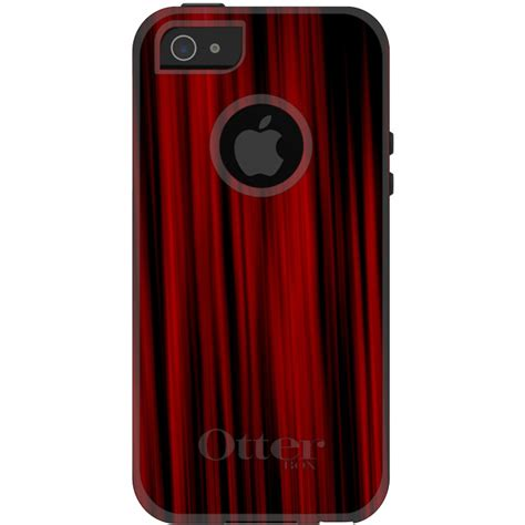 iphone screen curtain otterbox commuter for iphone 5s se 6 6s 7 plus bright red