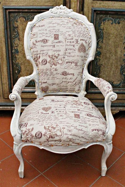 sedie antiche restaurate antica poltrona restaurata decorata e rifoderata shabby