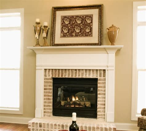 Best Paint For Fireplace Brick by How To Paint Your Fireplace
