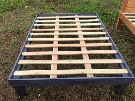 Pallet Wood Bed Frame Size Wooden Pallet Bed Frames 101 Pallets