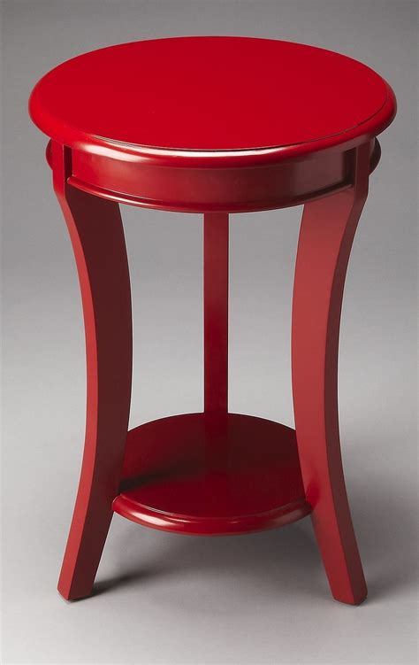 red accent tables holden loft red accent table from butler 4298293