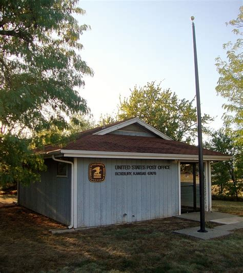 Roxbury Post Office by Post Office 67476 Roxbury Kansas By Courthouselover