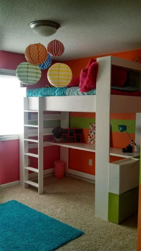 Colorful Bunk Beds 20 Awesome Loft Beds For Small Rooms House Design And Decor