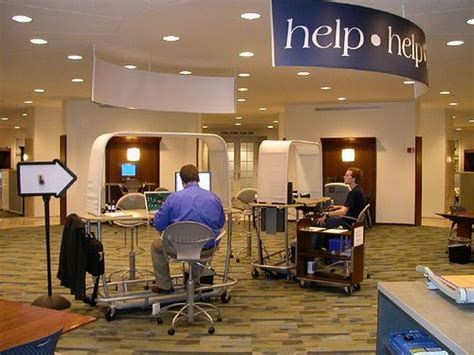 reference desk library commons