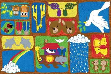 sunday school rugs noah s story sunday school rug kidcarpet