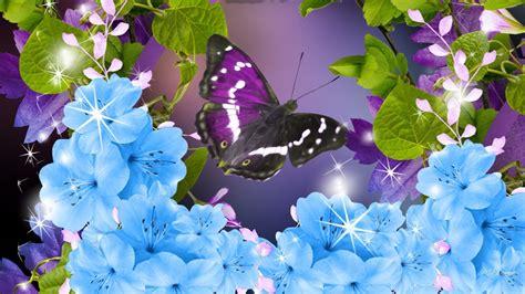 Nägel Grün by Die 50 Besten Blumen Und Schmetterlinge Hintergrundbilder