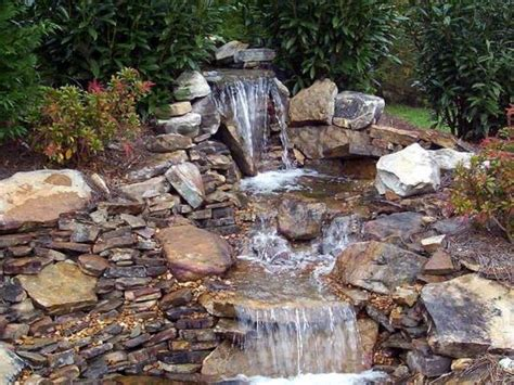 backyard ponds with waterfalls 50 garden decorating ideas using rocks and stones