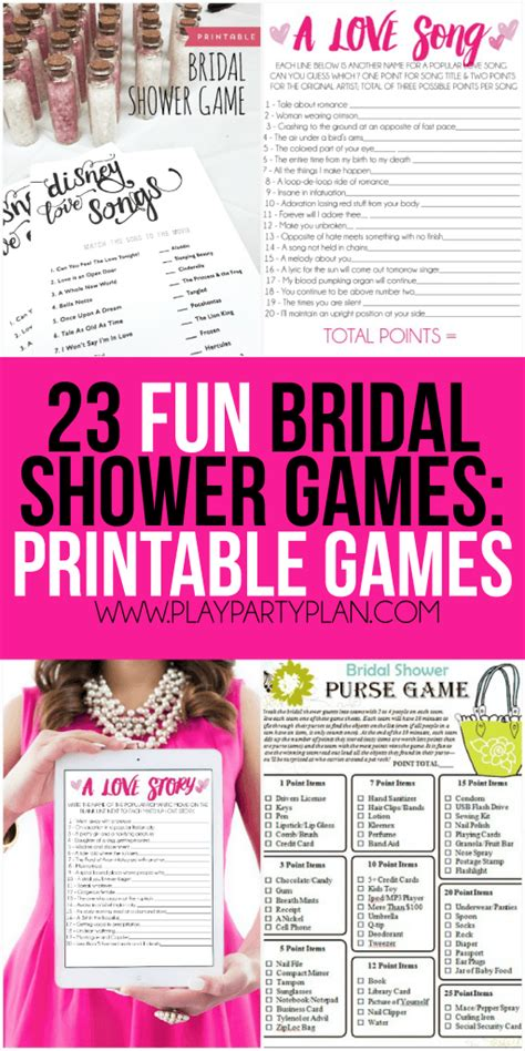 bridal shower to play 23 more bridal shower play plan us246