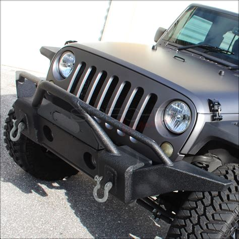 front bumper guard d ring mount for 07 15 jeep wrangler
