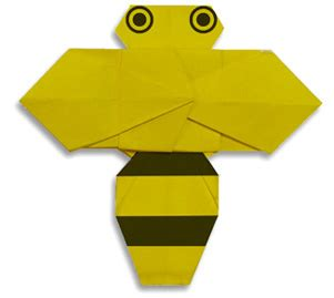 Origami Bee - origami that s and easy