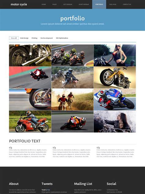 motosport templates motorsport site template motorcycle website templates